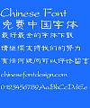 Fang zheng Gu li Font-Simplified Chinese