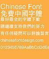 Fang zheng Hei ti Font-Traditional Chinese