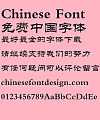 Fang zheng Li 2 Font-Simplified Chinese