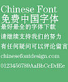 Fang zheng Song hei Font-Simplified Chinese