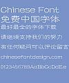 Fang zheng Tie jing Li shu Font-Simplified Chinese