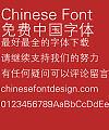 Fang zheng Xi hei yi Font-Simplified Chinese