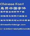 Fang zheng Xiang li Font-Simplified Chinese