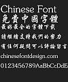 Fang zheng Xing kai Font-Traditional Chinese