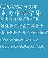 Fang zheng Ying bi Xing shu Font-Simplified Chinese