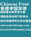 Fang zheng paper-cut Font-Simplified Chinese