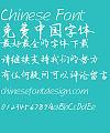 JiaShang Liu Xing kai 5500 Font- Simplified Chinese