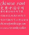 SNOWREN Jian gang ti Font-Simplified Chinese