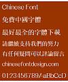 Meng na Zhong Xiu ming ti Font – Traditional Chinese