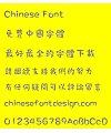 Meng na Lan shan li shu(MWindyHK-Bold) Font – Traditional Chinese