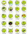 Grapefruit cartoon picture Emoticon-Emoticon Gifs