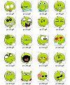 Grapefruit cartoon picture Emoticon-Emoticon Gifs
