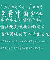 Dai Jin hao Chinese  Font – Simplified Chinese