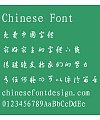 Bo yang CaoTi one Font-Simplified Chinese