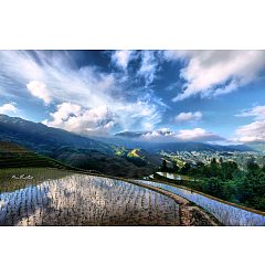 Permalink to 80 Terraces are another world-The beautiful scenery in hd photos in China