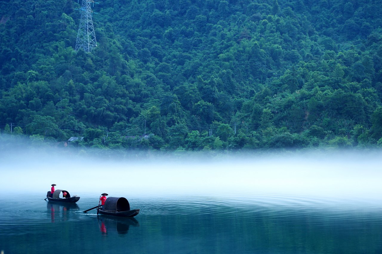 55510268201007300204292420988395767 001 26  A hidden river beneath the mist Beautiful China HD! Chinas tourism Beautiful photos in China