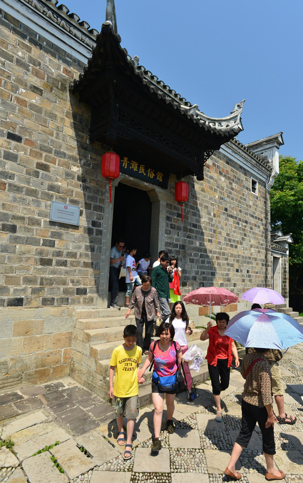 a1 24 Chinese traditional festival Dragon Boat Festival Ancient dwellings rebuilt into Duanwu Festival gallery The Dragon Boat Festival Chinese traditional festivals
