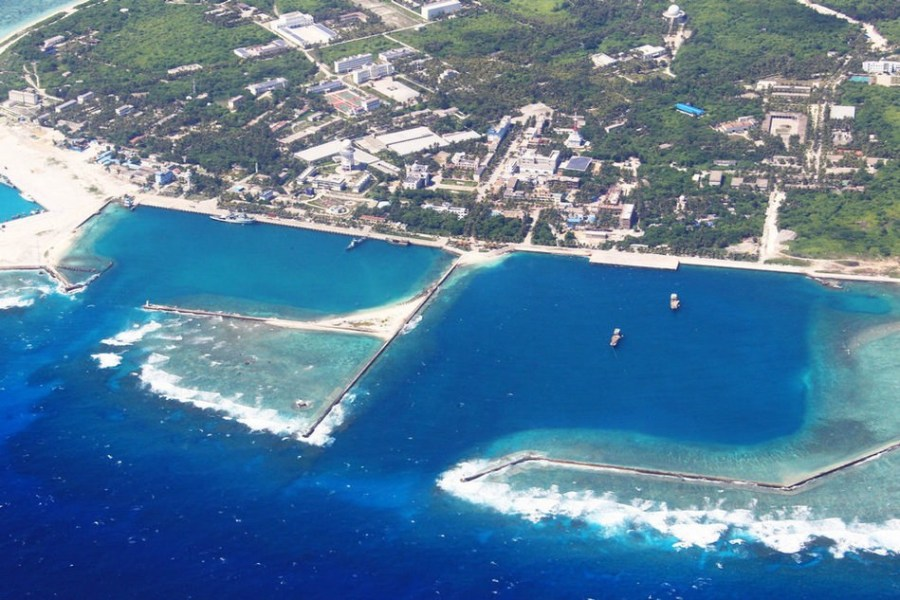 a11 28 Aerial view of Sansha City in South China Sea The south China sea scenery Chinas tourism