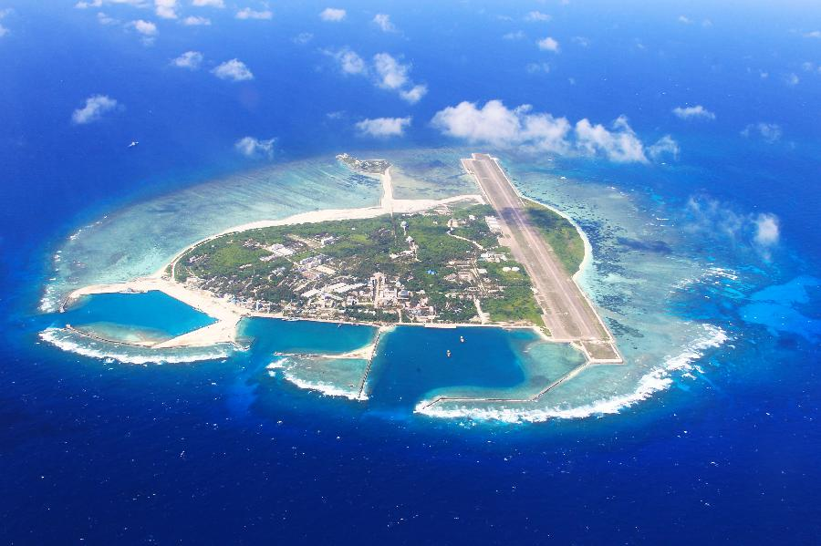 a21 28 Aerial view of Sansha City in South China Sea The south China sea scenery Chinas tourism