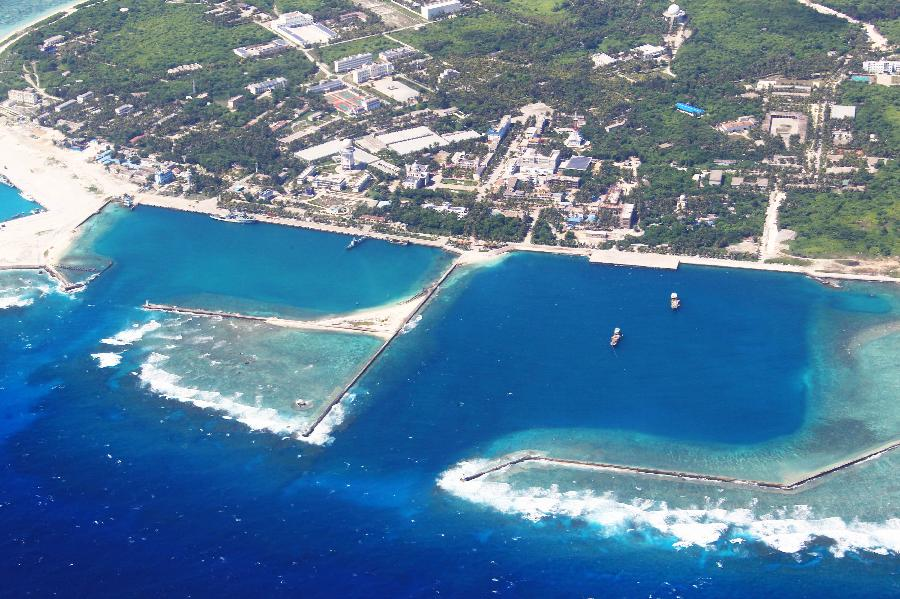 a31 28 Aerial view of Sansha City in South China Sea The south China sea scenery Chinas tourism