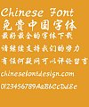Take off&Good luck Xing Regular script Font-Simplified Chinese