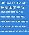 China construction bank Standard font-Simplified Chinese