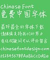 Xin Di Chi-bi Maruko(Primary school students handwriting) Font-Simplified Chinese