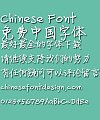 Fang zheng Jing Lei bold Font- Simplified Chinese