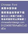 Japanese ID Huai yun ti(id-kumo) Font-Traditional Chinese