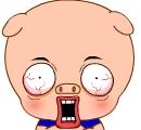 b3 61 Picasso pig emoticon & emoji download pig emoticon pig emoji