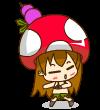 15 The mushroom princess emoticon & emoji download