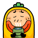 21 Facial paralysis of radish QQ emoticons download radish emoticons radish emoji