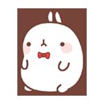 02 150 Molang Cartoon rabbit QQ emoticons emoji download