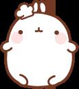 13 150 Molang Cartoon rabbit QQ emoticons emoji download