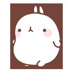 15 150 Molang Cartoon rabbit QQ emoticons emoji download