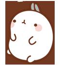 21 150 Molang Cartoon rabbit QQ emoticons emoji download