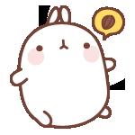 23 150 Molang Cartoon rabbit QQ emoticons emoji download
