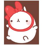 40 150 Molang Cartoon rabbit QQ emoticons emoji download