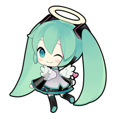 02 80 Hatsune Miku emoticons free download