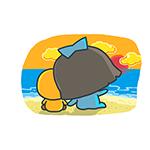 023 Lovely little girl MSN emoticons emoji download