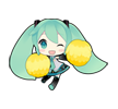 11 80 Hatsune Miku emoticons free download