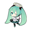 18 80 Hatsune Miku emoticons free download