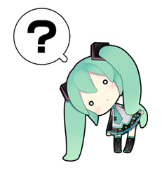 26 80 Hatsune Miku emoticons free download