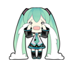 43 80 Hatsune Miku emoticons free download