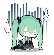 44 80 Hatsune Miku emoticons free download