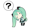 48 80 Hatsune Miku emoticons free download