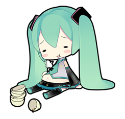 69 80 Hatsune Miku emoticons free download