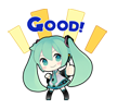 74 80 Hatsune Miku emoticons free download