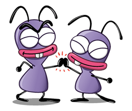 741 82 Cartoon ants(Trancas&Barrancas) emoticons emoji download