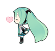 75 80 Hatsune Miku emoticons free download